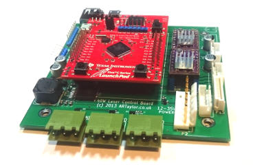 Picture of a K40III conversion board